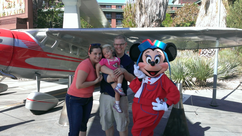 Saying no to minnie mouse