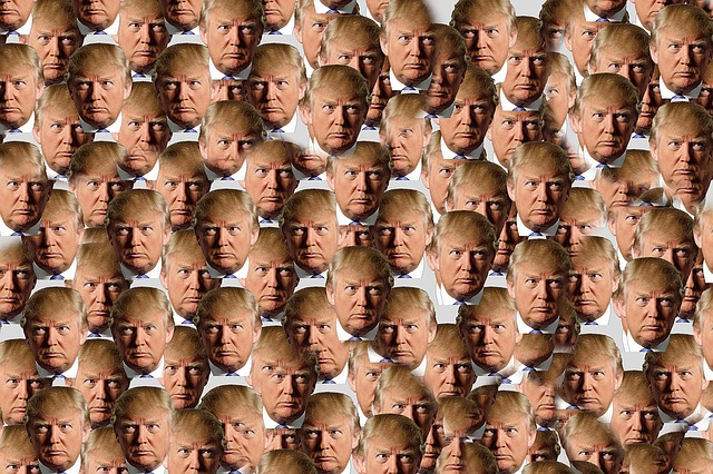 This is a weird picture of Trump. It's also free. I am putting it here for those reasons.